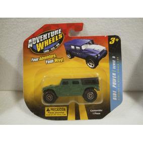 Enigma777 Adventure Wheels Camioneta Hummer Verde 1:64