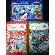 Guerreiras Mágicas De Rayearth Vol. 1,5 & 9. Manga