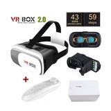 Gafas Realidad Virtual 3d Vrbox 2.0 + Control + Envio