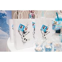 Bolsitas Kraft Souvenirs Personalizadas Frozen, Cars, Disney