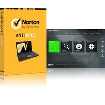 Norton Antivirus, 1 Año 1 Pc, Licencia Válida Original