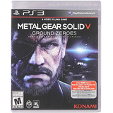 Videojuego Ps3 Metal Gear Solid V Ground Zeroes