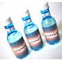 35 Minigarrafas 50ml Pet Azul Absolut Vodka Cha De Bebe P01