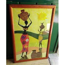 Remate Cuadro Mujeres Africanas Bailarinas Meses Sin Interes