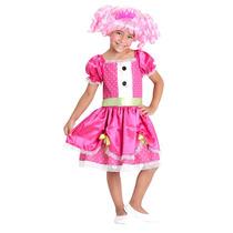 Fantasia Jewel Sparkles Infantil Luxo Lalaloopsy