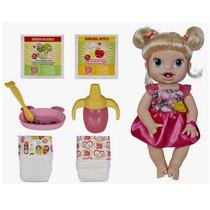 Boneca Baby Alive Hora De Comer Loira Original Hasbro