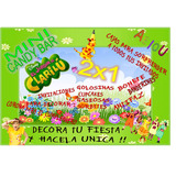 Kit Imprimible Mini Candy Bar El Jardin De Clarilu! 2x1