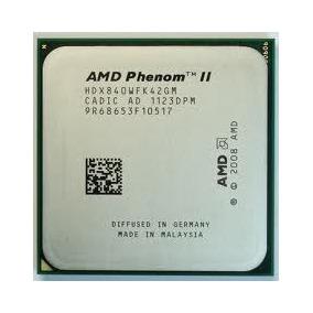 Processador Phenom X4 840 3,2 Ghz Socket Am3 Oem E Garantia!