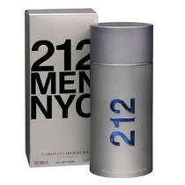 Perfume 212 Nyc Masculino Carolina Herrera 100ml Original!