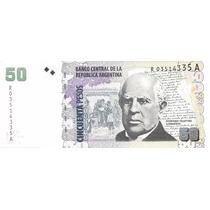 Billete Argentina $50 Convertible Reposicion Sin Circular