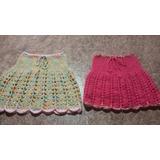 Polleritas Tejidas A Crochet Para Niñas