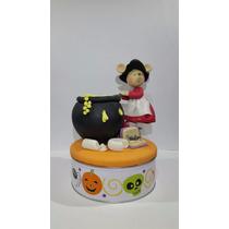 Figura Decorativa De Pasta Francesa Ratnona De Hallowen