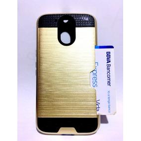 Funda Protector Tipo Metalico Vcard Alcatel Pixi 4 Ot5010