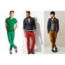 Pantalon Colores Para Caballero