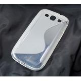 Capa S-type Tpu Premium Galaxy S3 I9300 + Pelicula Grátis