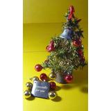 Adorno Arbol Navidad Escritorio 30 Cm Alto Completo