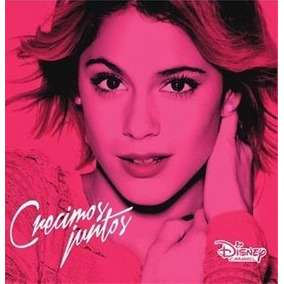 Cd Violetta Crecimos Juntos Open Music