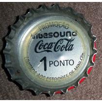 Tampinha Coca-cola Promoção Vibesound - Vibe Sound 1 Ponto