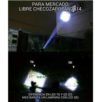 Lampara De Mano Ultrafire
