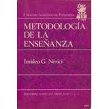 Metodologia De La Enseñanza(imideo G Nerici)