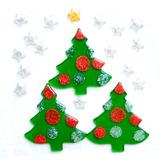 Gel&man Figuras De Gel Arboles Glitter Navidad Morph