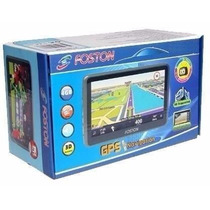 Gps Foston Fs 3d 717 Tv Digital 7 Full Hd Com Transmissor Fm