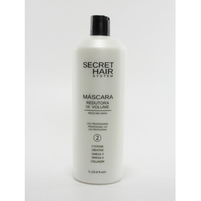 Máscara Redutora De Volume Secret Hair System *mais Brinde*