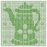 Bordado Computadorizados Croche Bules Chaleiras Bc524