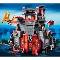 Exclusivo Castillo De Dragón Asiático Playlgh Playmobil 5479