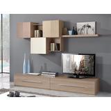 Mueble Lcd-mesa De Tv-modular Asis - Rack Moderno- Melamina