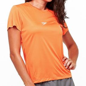 Camiseta Speedo Fastdry Poliéster Feminina Blusa Shirt
