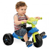 Triciclo Bandeirante Kid Cross 628 - Azul