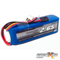 Lipo Bateria Rádio Turnigy 9x 2650mah 3s 1c 11.1v Futaba Jr