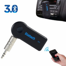 Receptor Áudio Bluetooth Wireless P/carros Som Musica P2 Aux