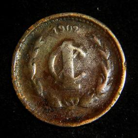 Moneda Un 1 Centavo 1902 Culiacan C Cobre Porfirio