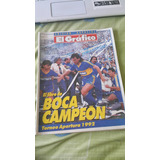 El Grafico. El Libro De Boca Campeon Torneo Apertura 1992.
