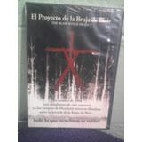 Dvd El Proyecto De La Bruja D Blair 1a. Edición Terror