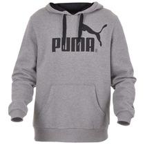Moletom Puma Ess Logo Hooded Sweat Masculino Original