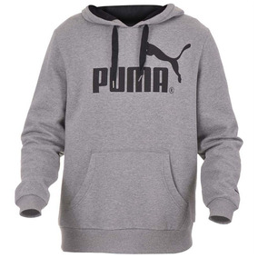Moletom Puma Ess Logo Hooded Sweat Masculino Original