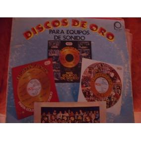 Lp Discos De Oro Para Equipos De Sonido,