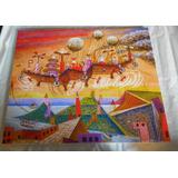 Cuadros Xul Solar Tela Canvas Con Bastidor Arte Argentino