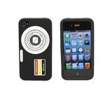 Capa Case Skin Iphone 4 4s Silicone Camera Digital