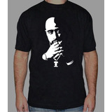 Tupac 2pac Remera Estampada Con Vinilo Inalterable