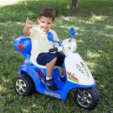 Moto Elétrica Infantil Scooter 6v Acende Farol Modelo Grande