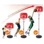 Niños Tablero Trasero De Baloncesto Soporte Y Aro Con Bola