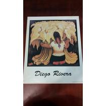 Pintura De Diego Rivera Serigrafia Cartel Para Enmarcar