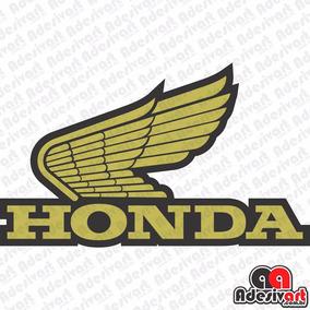 Adesivo Honda Asa Classic Tanque Moto Café Race Várias Cores