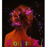 20 Extensiones Luminosas Con Hebilla Mechas Led Cotillon