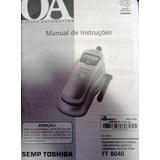 Manual De Instruções Do Telefone Semp Toshiba Ft-8040