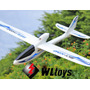 Aeromodelo Avião Planador Brushless Com Controle De 4 Canais